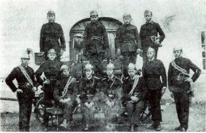 Senožeški gasilci leta 1924