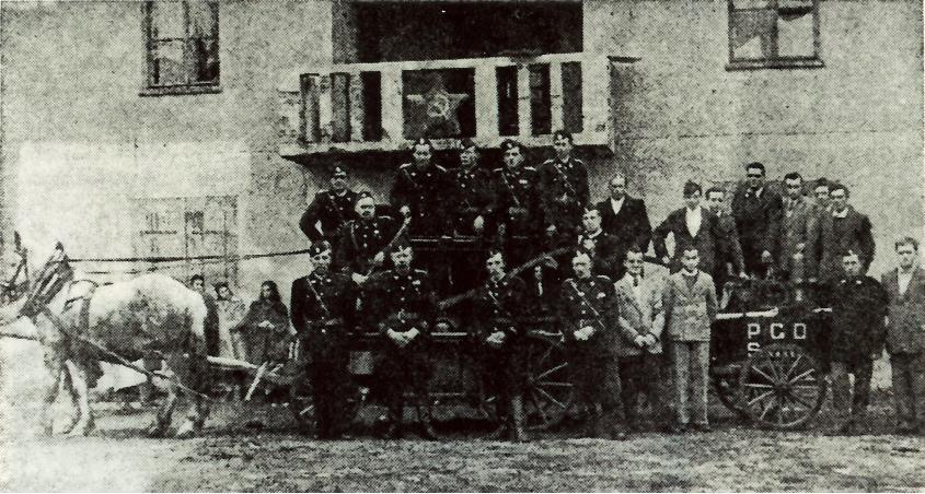 Senožeški gasilci leta 1950